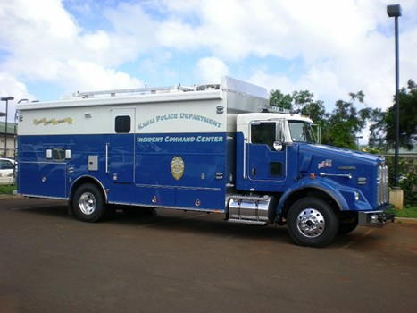 photo of KPD's Incident Command Truck
